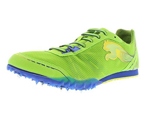 Distance Track (PUMA Men's TFX Distance V4 Track Shoe,Jasmine Green/Monaco Blue/Fluorescent,8.5 D US)