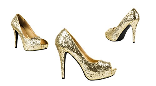 Boland Schuhe Allure silber Schuhe Allure Gold silber Boland ER8nw