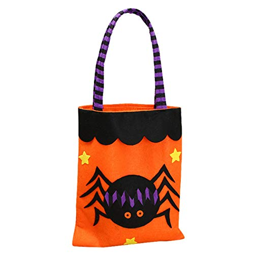 Cotton Sack - 1pc Candy Bag Halloween Bags Trick Or Treat With Decoration Sack Gift Spider - Drawstring Shoe Jute Dog Sash Pumpkin Rim Halloween Bag Paper Bag Fabric Apron Bag Sash Birthday Ba ()