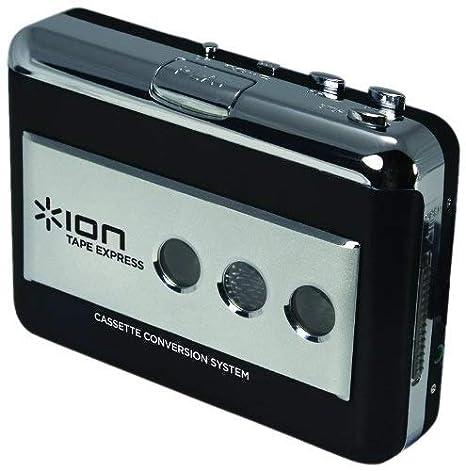 ION Audio Tape Express - Conversor cinta de cassette a MP3: Amazon.es: Electrónica