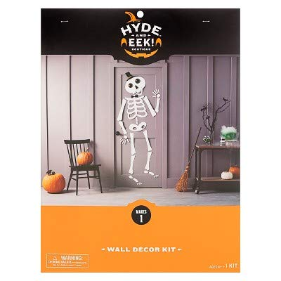 Amazon Com 90pc Halloween Skeletons Door Decorating Kit Hyde And