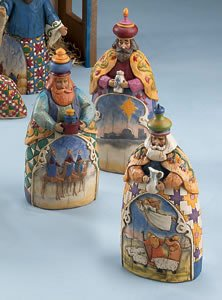 Jim Shore – Heartwood Creek – Let Every Heart Prepare Him Room Three Wisemen by Enesco – 113256