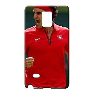samsung note 4 Shock Absorbing Back Protective Stylish Cases mobile phone carrying shells federer tennis london 2012 olympics