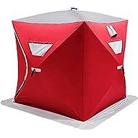 VEVOR Utomhus camping tält 148 x 148 x 168 cm Ice Fish Shelter 58 x 58 x 66 tum, Ice Fish Shelter 300D Oxford tyg…