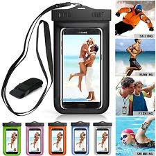 """NutraTek Global Solutions LLC 3 CLEAR Waterproof Phone Cases Ultra-Thin Universal Cellphone, Smartphone Dry Bag Pouch for Outdoor Activities for all ios /android Devices up to 7"""" diagonal price tips cheap"""