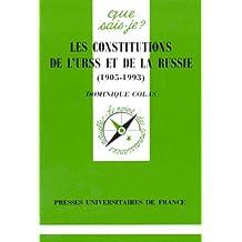 Constitutions de l'URSS et de la Russie