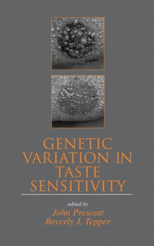 Genetic Variation in Taste Sensitivity (Food Science and Technology)