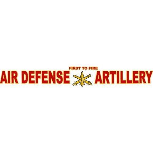 U.S. Army Air Defense Artillery Clear Window Strip