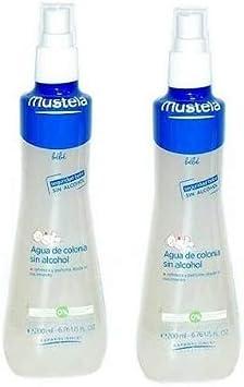 MUSTELA PACK Agua de Colonia Sin Alcohol 2x200ML: Amazon.es: Salud y cuidado personal