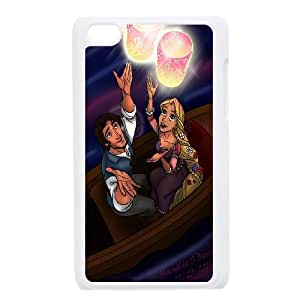 Princess Tangled Cartoon Productive Back Phone Case FOR IPod Touch 4th -Pattern-19