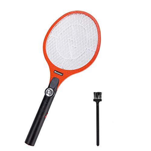 Blusmart Electric Bug Zapper Fly Swatter Zap Mosquito Best for Indoor and Outdoor Pest USB Rechargeable
