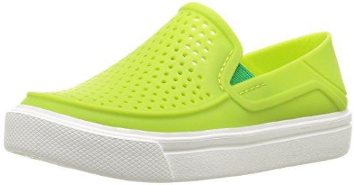 crocs Kids' Citilane Roka K Flat, Volt Green, 7 M US Toddler