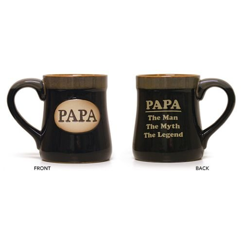 Mug Gift For Dad XL 18 oz Imprint, PAPA, The Man - The Myth - The Legend 18 (Sunshine Legend)