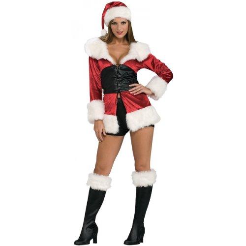 Secret Wishes Lace Santa Costume