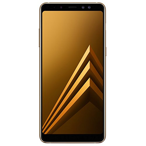 Samsung Galaxy A8+ A730F 32GB Unlocked GSM 4G LTE Android Phone w/ Dual 16MP + 8MP Front Camera - Gold by Samsung