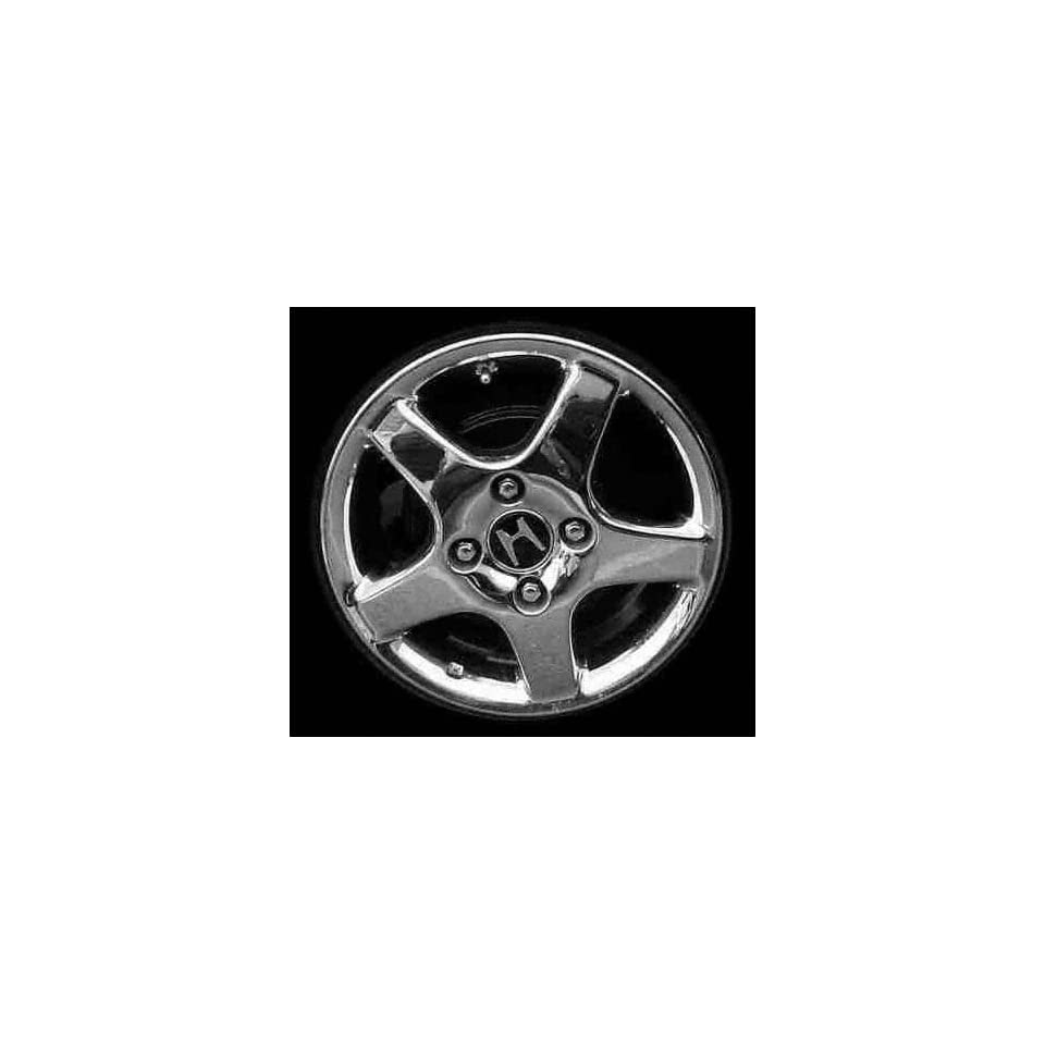 98 02 HONDA ACCORD SEDAN ALLOY WHEEL RIM 15 INCH, Diameter 15, Width 6 (5 THICK SPOKES, 4CYL, 4 LUG), ARGENT, 1 Piece Only, Remanufactured (1998 98 1999 99 2000 00 2001 01 2002 02) ALY63785U15