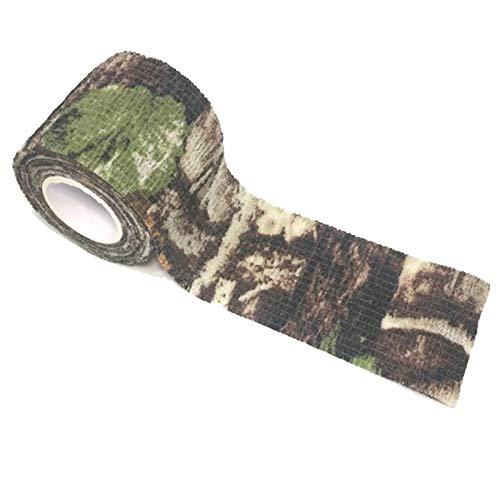 Tissu Camouflage Tape Wrap Camouflage Adhésif pour Pistolets Décor de Bande de Protection Tactique Bande de Camouflage… 2