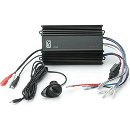Poly-Planar ME-60 Marine 4Ch 120W RMS Audio Amplifier W/Volume Control Consumer Electronics