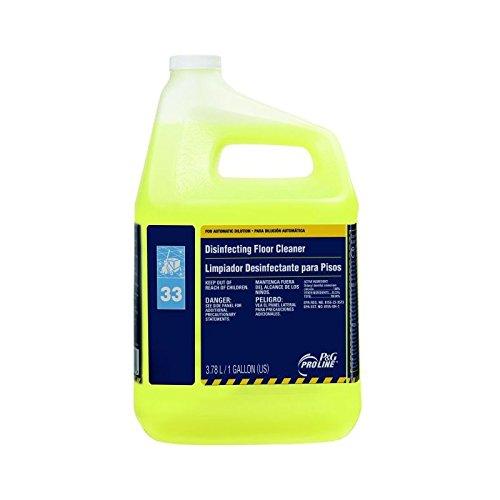 Proctor & Gamble Pro Line 33 Disinfectant Floor Cleaner Gallons, 4 Per Case