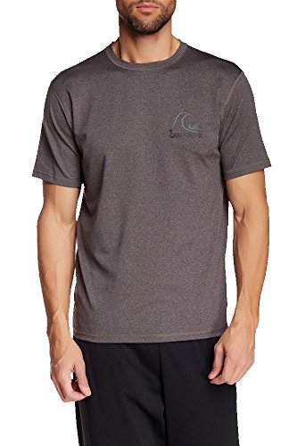 - Quiksilver Men's Herritage Short Sleeve Surf Tee (Medium, Charcoal)