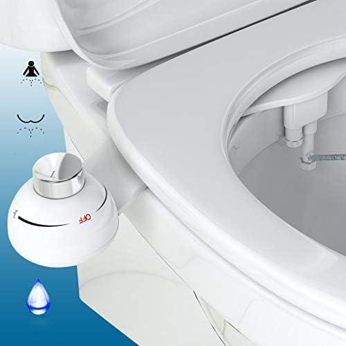 Leichtgewicht-Bidet einstellbar auf den idealen Wasserdruck und das ideale Reinigungsmuster AUTLEAD Bidet schnelle Installation und l/ängere Lebensdauer Qualit/ätsmodell aus Messing und ABS DS01A