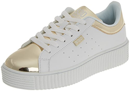 bass3d Women's 041271 Trainers Gold (Oro Oro) 8x2F8