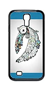 Cool Painting fancy comic cartoon owl Snap-on Hard Back Case Cover Shell for Samsung GALAXY S4 I9500 I9502 I9508 I959 -912