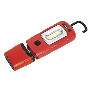 Sealey LED3601R LED Rechargeable Lithium-Polymer Inspection Lamp Red
