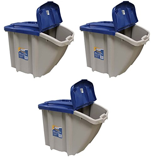 SUNCAST STORAGE TRENDS STACKING BIN (3) (Storage Recycle)