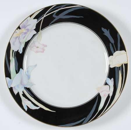 Amazon.com   Mikasa - Charisma Black L9056 - Platter-Round: Platters