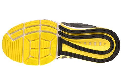 Nike Kvinners Air Zoom Vomero 11 Løpesko Kjøle Grå / Svart-hyper Orange-opt Gul