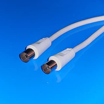 AVE-A - Cable de antena coaxial para televisión o radio FM (7,