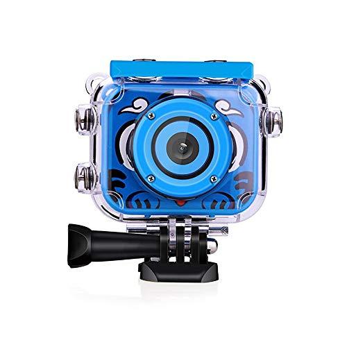 (LARDOO Mini Children Kids Camera Digital Waterproof with Video Recorder Gift Kids Toys Camera,Blue)