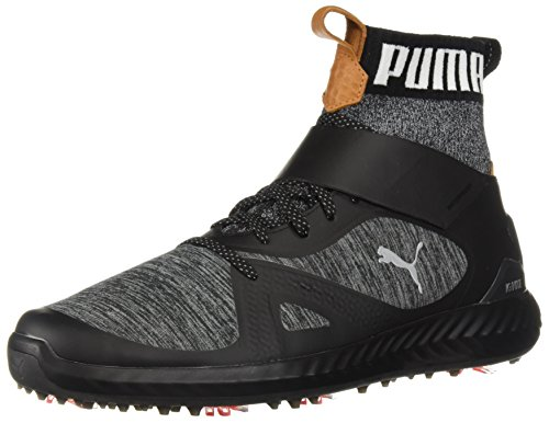 - PUMA Golf Men's Ignite Pwradapt Hi-Top Golf Shoe, Black/Silver, 11.5 Medium US