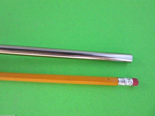 True 3/8 (10mm) diameter for Snack Sticks, Slim Jims, Pepperoni sticks etc. 2 1/16 base diameter. Stainless Steel