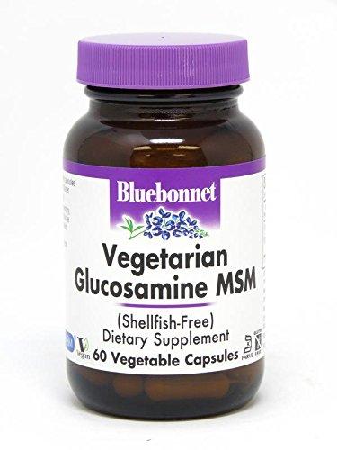 BlueBonnet Vegetarian Glucosamine Plus MSM Supplement, 60 Count
