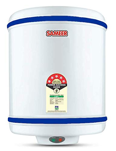 Sameer SAL202 10-Litre Spout Water Heater (White)