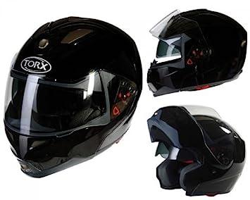 Casque Moto Modulable Torx Neil Noir Taille Xl Amazonfr Auto Et Moto