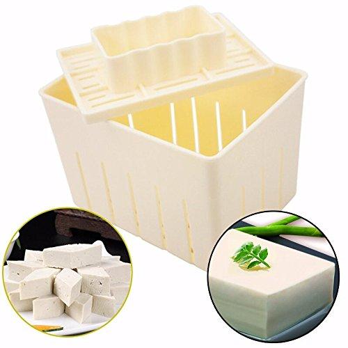 Mangocore Tofu Maker Press Mold Kit + Cheese Cloth Soy DIY Pressing Mould Kitchen Tool - Tofu Kit