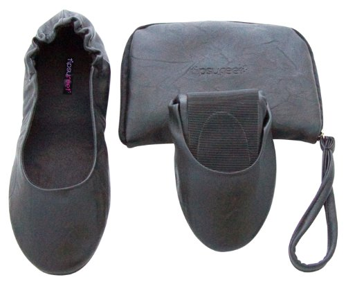 Black Tipsyfeet Foldable Tipsyfeet Black Black Shoes Black Foldable Shoes 7qTwP