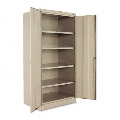 36'' Storage Cabinet Color: Sand, Handles: Chrome