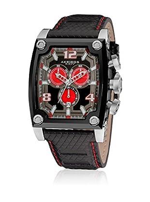 37944b1a4d58 Akribos XXIV Reloj con movimiento cuarzo suizo Man AK611BK 42 mm