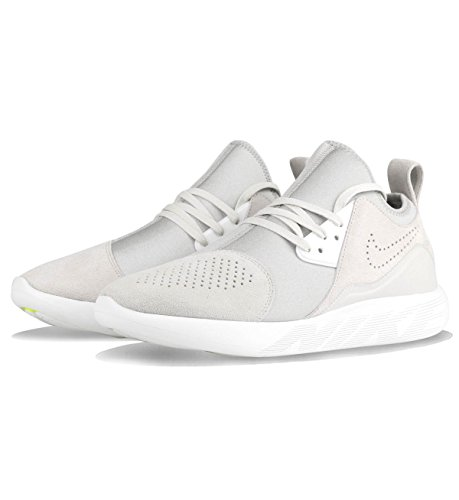 Nike Lunarcharge Premium Mens Running Trainers 923281 Sneakers Shoes Light Bone / White
