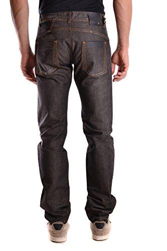Costume National Homme MCBI074077O Noir Coton Jeans