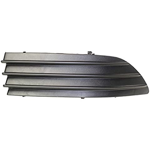 DAT 04-05 TOYOTA SIENNA BLACK BUMPER COVER GRILLE RIGHT PASSENGER SIDE TO1089109 - Passenger Side Bumper Grille