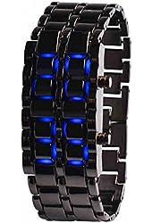 Liroyal Led Digital Lava Iron Style Metal Sports Watch