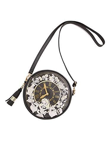 Alice In Wonderland Clock Crossbody Bag