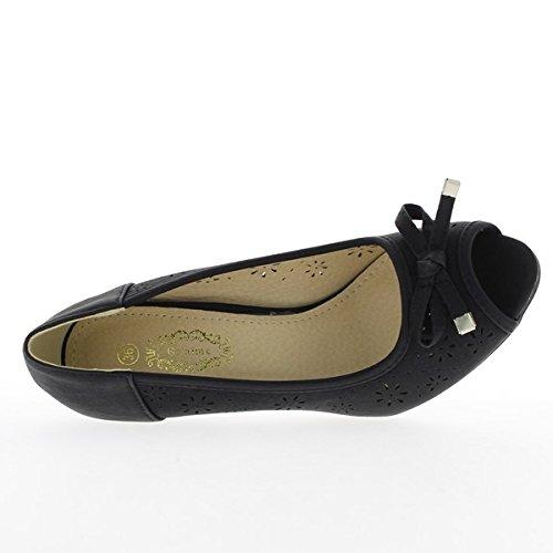 mujer vestir sintético de Zapatos para ChaussMoi de qnYZtE