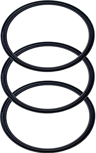 (Pack of 3-30 oz Replacement Rubber Lid Ring, Gasket Seals, Lid for Insulated Stainless Steel Tumblers, Cups Vacuum Effect, fit for Brands - Yeti, Ozark Trail, Beast, Black by C&Berg Model 2019)