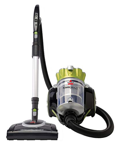 Bissell Powergroom Multicyclonic Bagless Canister Vacuum – Corded (Renewed)